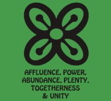 T-Shirt Adinkra Symbol: Plenty by Keith Richardson