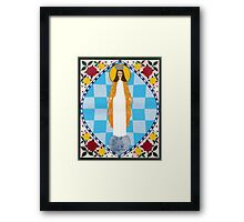 Icon of the Immaculate Conception Framed Print