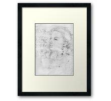 sketchbook series 1 Framed Print