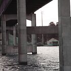 Underside of Southside Bridge by Charldia