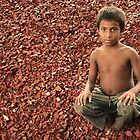 Young Kid in Bangladesh by Aziz Dhamani