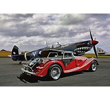 Spitfire & Morgan Photographic Print
