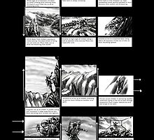 Mountain Odyssey (storyboard) by Evan Lole