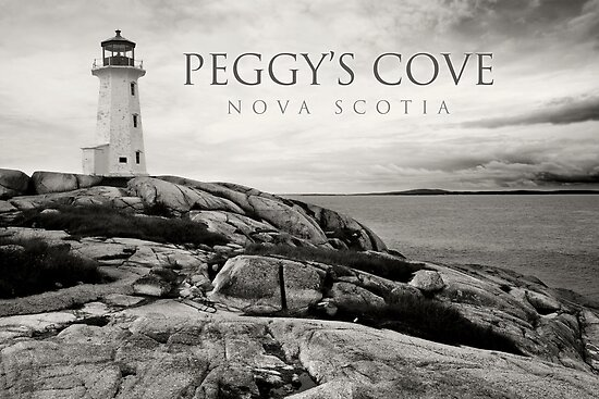 Lighthouse on Peggy's Cove by sumners