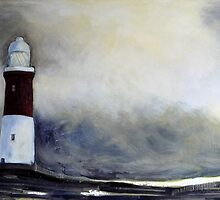 Spurn Point Lighthouse by Sue Nichol