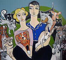 Dog people by Samantha Thompson
