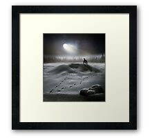 Moon Song Framed Print