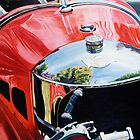 """Morgan"" - oil painting of a Morgan car by James  Knowles"
