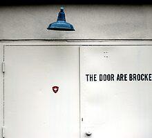 The Door Are Brocked by Benjamin Kaufman