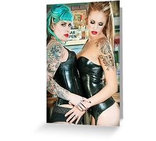 Latex Lovers: Greeting Card