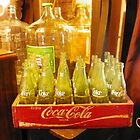 Crate of Vintage Bottles by ArtistJD
