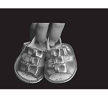 Baby Sandals Photographic Print