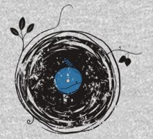 Enchanting Vinyl Record Grunge Vintage by Denis Marsili