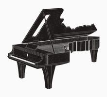 Piano Key Kids Clothes