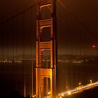 Golden Gate Bridge at Night (San Francisco, California) by Brendon Perkins