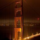 Golden Gate Bridge at Night (San Francisco, California) by Brendon Perkins