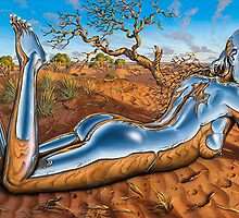 A desert Idyll by Shane  Gehlert