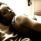Ebony Glance by alan John