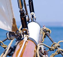 Sailing ship Bowsprit 135mm by Robert T Wilson
