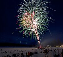 WINTER CARNIVAL FIREWORKS by Charlene Aycock IPA