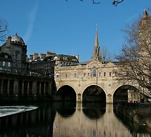 The Pulteney Bridge, Bath by Kathy Silcock