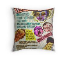 Pregnancy: Village of the Pramed Throw Pillow