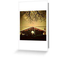 Buckman Hoops Greeting Card