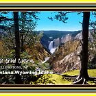 LITTLE GRAND CANYON POST CARD by kevperan