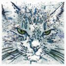 Ice Cat T Shirt by Maggie Keegan