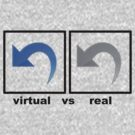 virtual vs real by jaysalt