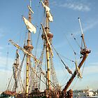 Tall ship &quot;frigate Shtandart&quot; by steppeland