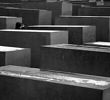 Berlin's Memorial to the Murdered Jews of Europe by philrwesty
