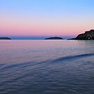 Abersoch St Tudwal Islands at Dusk by Turtle  Photography