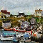 Nova Scotia Peggy&#x27;s Cove by bbrisk