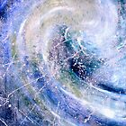 """Ocean Two""- abstract oil painting impression of the ocean by James  Knowles"