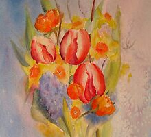 Spring impression by Beatrice Cloake