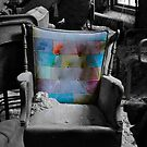 """""""Layered Chair""""  by MJD Photography  Portraits and Abandoned Ruins"""