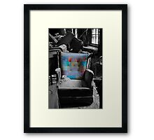 """Layered Chair""  Framed Print"