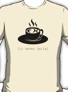 FK in the coffee. It never fails. [Deadly Premonition, bright shirt] T-Shirt