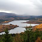 Glen Garry in Autumn by Rupert Connor