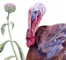 book illustration turkey portret by Nataliya Stoyanova