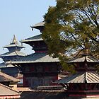 """Roof Tops"" Durbar Square- Kathmandu, Nepal by Breanna Stewart"
