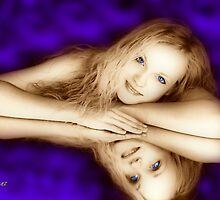 Dreamy Blue Eyes by George Lenz