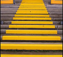 Yellow Steps by Jazzdenski