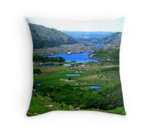 Ladies View - Ring of Kerry Throw Pillow
