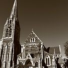 Christchurch cathedral as it was before the earthquake by Jenny Wood