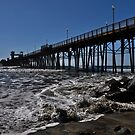""" Oceanside California , Pier "" by CanyonWind"