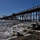""" Oceanside California , Pier "" by CanyonWind"