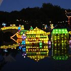 Montreal Botanical Garden Chinese Lanterns by Pierre Frigon