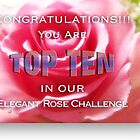 elegant rose challenge by vigor